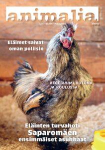 Animalia-lehti 2-2019 kansi