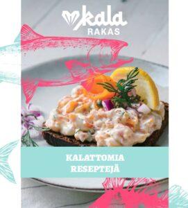 Kuva Kalarakas-reseptivihkon kannesta