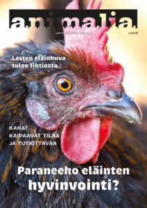 Animalia-lehden 1/2018 kansi