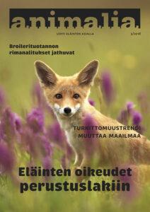 Animalia-lehden 3/2018 kansi