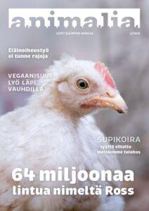 Animalia-lehti 3/2016 kansi
