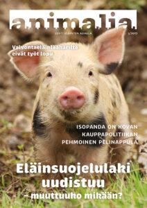 Animalia-lehti 3/2017 kansi