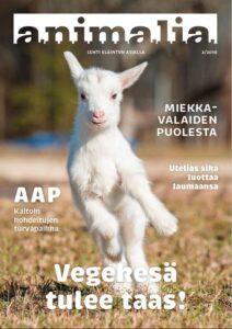 Animalia-lehti 2/2016 kansi