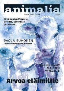 Animalia-lehti 4/2016 kansi