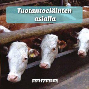 Kuva tuotantoeläinesitteen kannesta