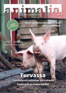 Possuja Animalia-lehden vuoden 2019 neljännen numeron kannessa